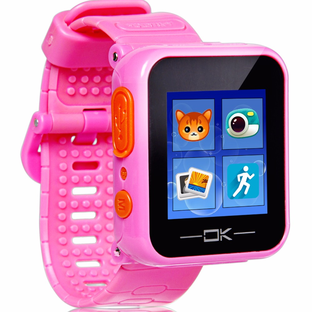 Game Smart Watch With Virtual Cyber Pet Camera Pedometer