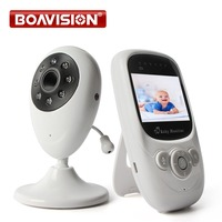 2.4GHz Wireless 2.4 inch Video Color Baby Monitor Security Camera Baby Nanny Intercom Night Vision Temperature Monitoring MB880