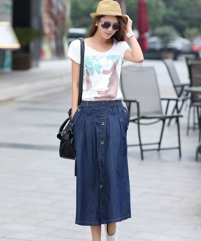 Compare Prices on Jean Skirt Long- Online Shopping/Buy Low Price ...