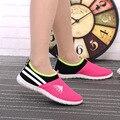 DreamShining Женщины Прохладный Сетки Дышащей Обуви Женские Мягкое Дно Обувь Леди Повседневная Поскользнуться На Обувь zapatos де му