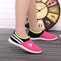 DreamShining Women Cool Mesh Breathable Shoes Female Soft Bottom Shoes Lady Casual Slip On Shoes zapatos de mu