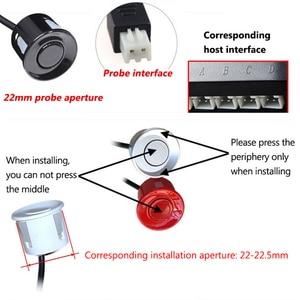 Image 5 - 2.5M Probe Line Parking Sensors Car Anti interference Reversing Radar Waterproof Auto Parking Sensor 22mm Probe Parking Detector
