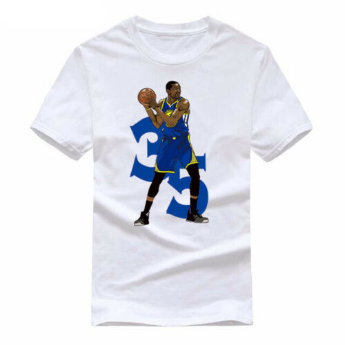 Kevin Durant T-<font><b>shirt</b></font> Basketball Player <font><b>KD</b></font> Kevin Durant Brand new T-shirtTops wholesale Tee custom Environtal printed Tshirt chea image