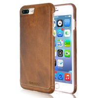 New Arrival Pierre Cardin Luxury Genuine Leather Cover Case For Apple IPhone 7 7 Plus Fashion