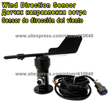 Aluminium Alloy  Wind Direction Sensor/ Voltage Type 0~10V Wind Direction Sensor/Power Supply DC12~24V Connection Air Plug