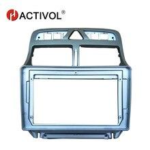 HACTIVOL 2 DIN Автомобильная магнитола Лицевая панель рамка для peugeot 307 2002-2013 автомобильный dvd-плеер gps navi Панель приборная панель комплект автомобильных изделий