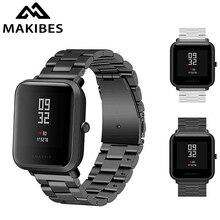20mm Universal Ersatz Uhr Band Stahl Lite Mesh Metall strap für Huami Xiaomi Amazfit Bip für WeLoop hey 3 s/Ticwatch2/GTS
