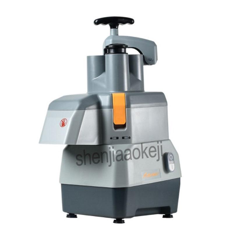 Коммерческая овощерезка многофункциональная электрическая машина для резки нарезки ломтиками картофеля резки проволоки резки 220 В - 6