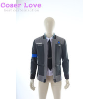 DETROIT:BECOME HUMAN Connor Cosplay Carnaval Costume Halloween Christmas Costume