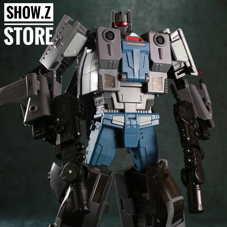 все цены на [Show.Z Store] Unique Toys UT M-05 Rage Winterchill Vortex Transformation Action Figure онлайн