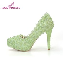 4b20968722 Popular Green Love Shoes-Buy Cheap Green Love Shoes lots from China ...