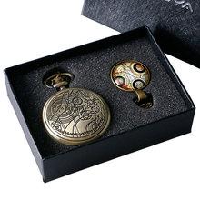 2016 Fashion Top Grado Médico Que Tema de Reloj de Bolsillo de Regalo con el Dr. Who Diseño Cúpula De Cristal Collar de la Cadena y de Regalo caja