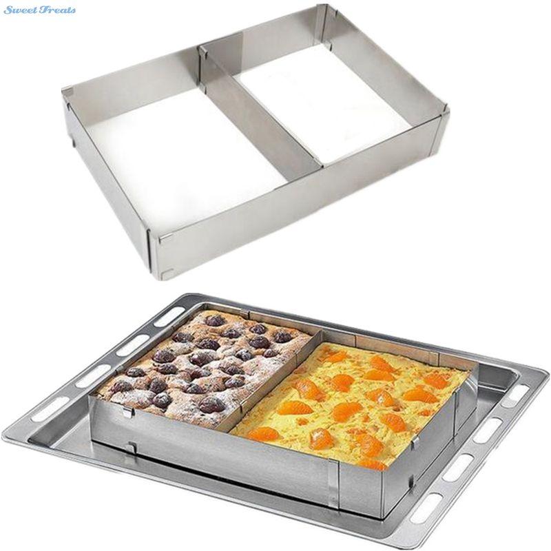Sweettreats Anillo de Mousse de Torta del Acero Inoxidable Cocina Caliente Nuevo
