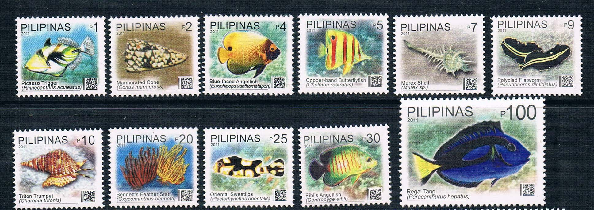 EA1580 Philippines 2012 marine general ticket 11 new 0916 Edition ea ac87
