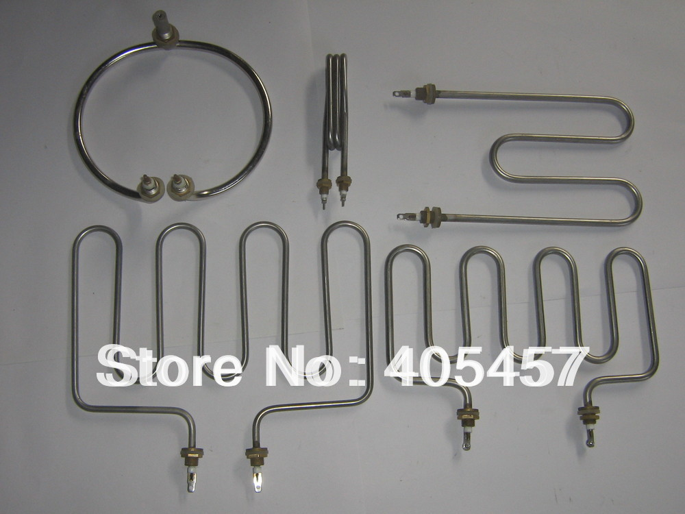 industry electrothermal tube,heating elements,customizable electric heat pipe,non - standard heating  tube