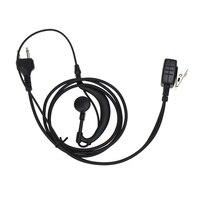 talkie walkie 2 עבור אוזניות אפרכסת פין PTT EarHook אוזניות MIC MIDLAND G6 / G7 / G8 / G9 GXT550 GXT650 LXT80 LXT110 LXT112 Talkie Walkie (1)