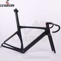 LEADXUS NV360 2019 Newest Aero Carbon Fiber Racing Bicycle Frame Road Aero Racing Bike Carbon Frame 45/47/49/52/54/56/58cm
