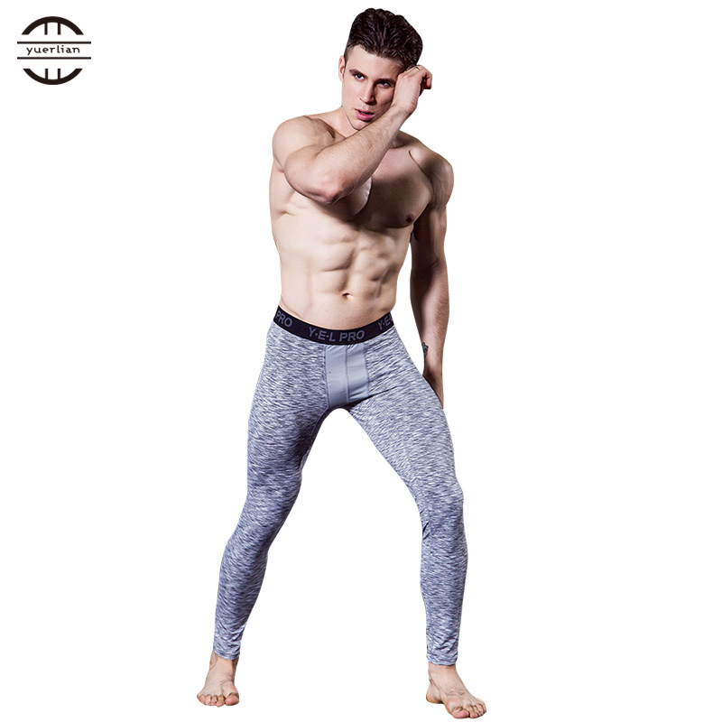 Collection Here Hot White Compression Pants Gym Men Fitness Sports Running Legging Sport Tights Dry Fit Training Compression Running Pants Xxl