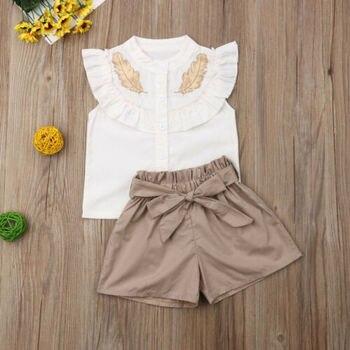 Pakaian Set Tshirt dan Celana Pendek  3