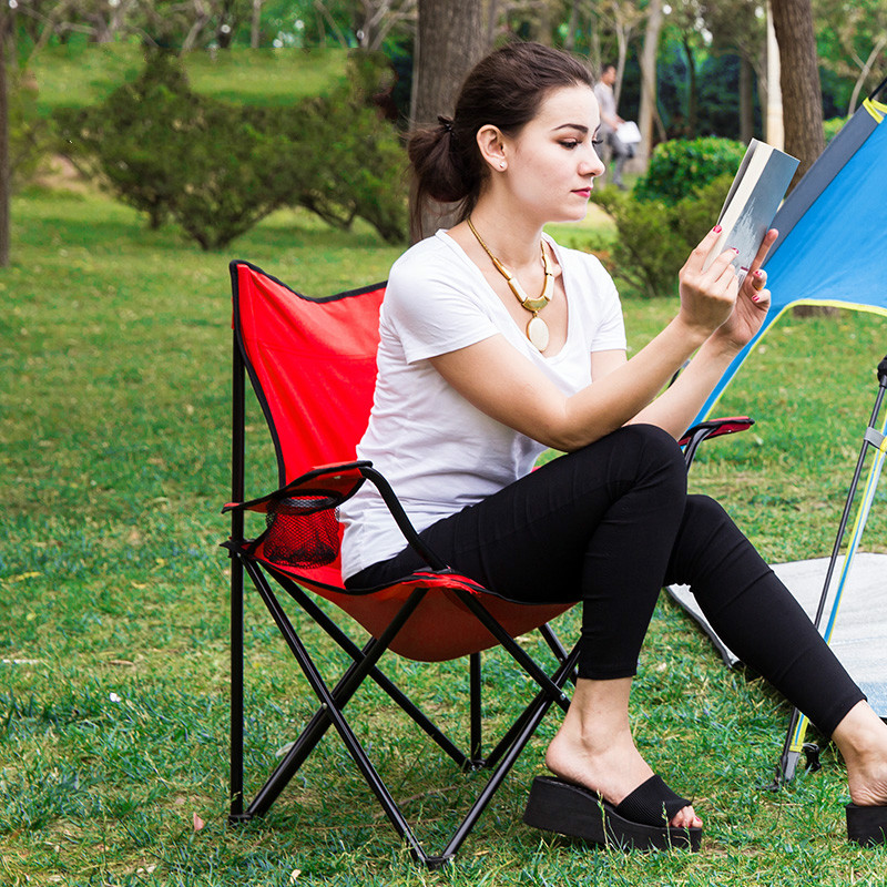 цена High Quality Portable Folding Chair Fishing Chair Camping Climb Leisure Outdoor Garden Beach Stool Hand-held Fabric cadeira