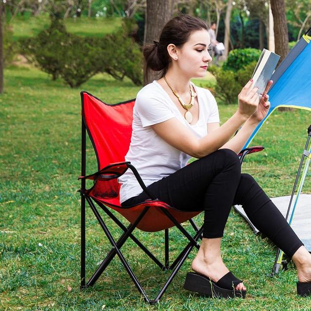 High Quality Portable Folding Chair Fishing Chair Camping Climb Leisure Outdoor Garden Beach Stool Hand-held Fabric cadeira
