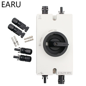 Image 1 - Free Shipping High Quality Solar System 1000VDC 32A PV DC Isolator Switch With Connector
