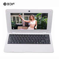 BDF 10.1 Inch Android Notebook Laptop Tab Laptop 1GB+8GB Quad Core WiFi Mini Computer Netbook Laptop Android 6.0 Bluetooth RJ45