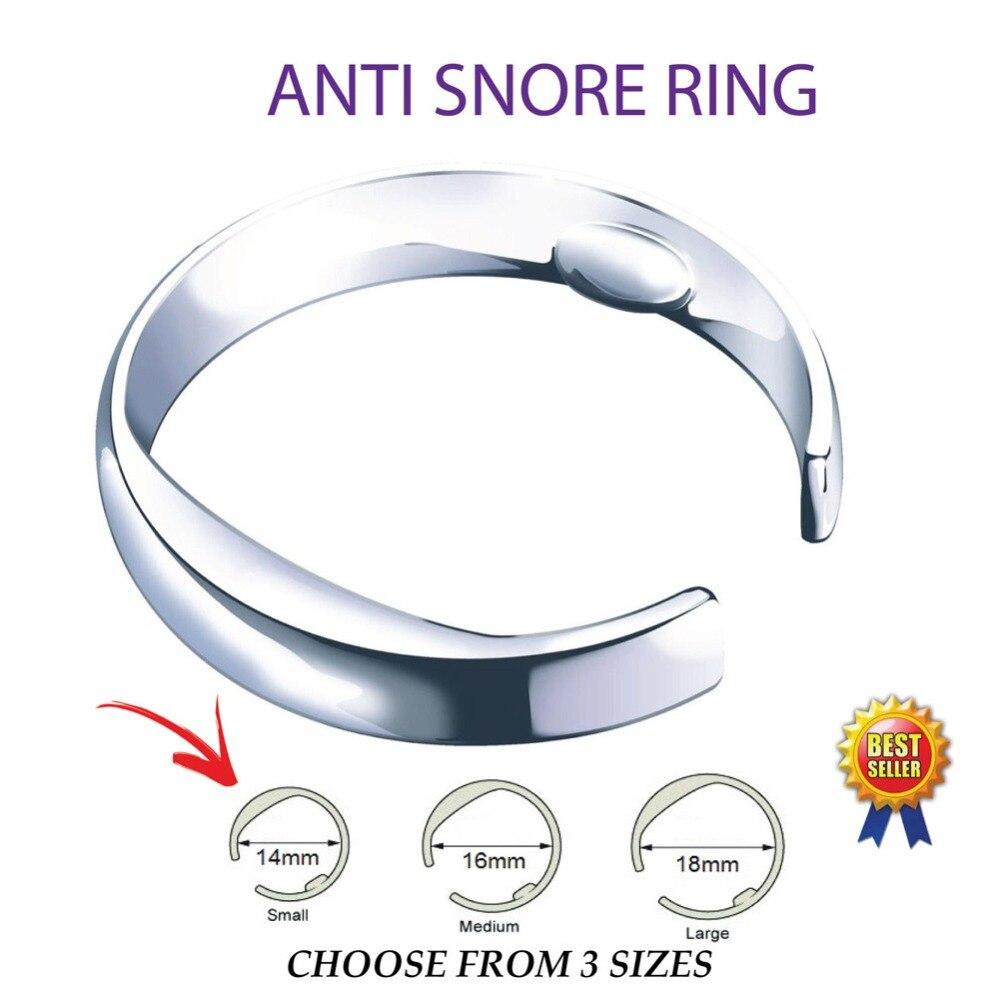 3 Größen Akupressur Anti Schnarchen Natürliche Ring Reflexzonenmassage Behandlung Gegen Schnarchen Lösung Gerät Apnea Helfen Schlaf #277908