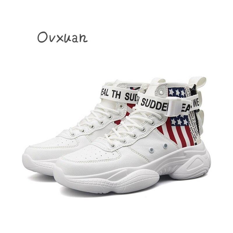 Loafers Sneakers Shoes High A Do Homens Sapatos 2019 Casa Rua cinza Para Hip preto Social Regresso Designer Festa Hop Vestido Encantador Bege De branco Flat Escuro assorted Top cinza 6Panx6W