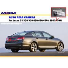 Liislee заднего вида Камера для Lexus GS 300 350 430 460 450 h 2005 ~ 2011/Обратный Камера /NTST PAL/поворотника