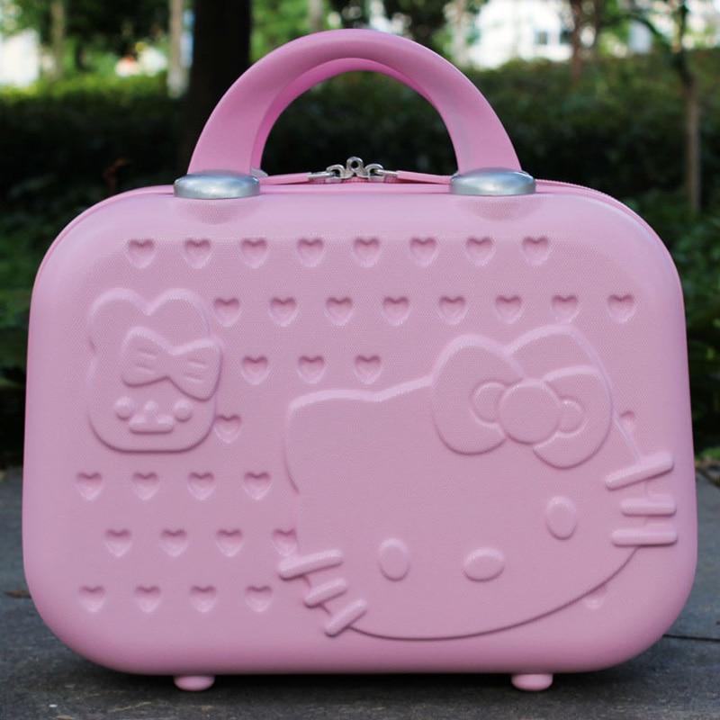 13inch Gullig Hello Kitty Kvinnor Sminkväska / Affärsresa Make Up - Väskor för bagage och resor - Foto 2