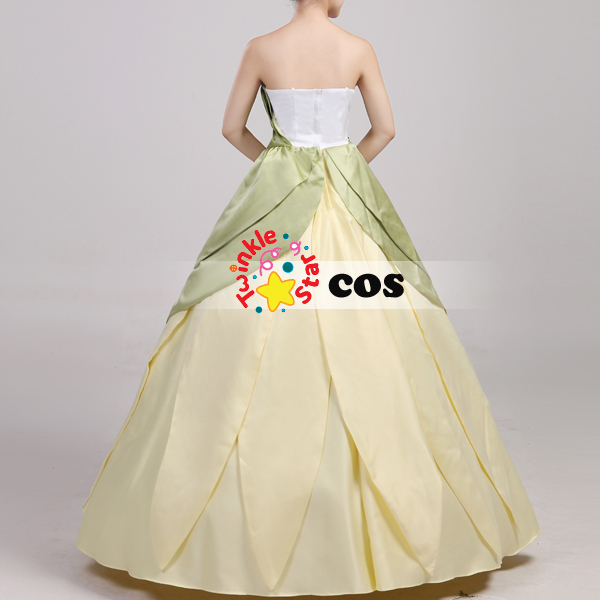 2017 Halloween Costumes for women Princess Tiana adult costume the Princess and the Frog cosplay costume Tiana Princess dress on Aliexpress.com | Alibaba ... & 2017 Halloween Costumes for women Princess Tiana adult costume the ...