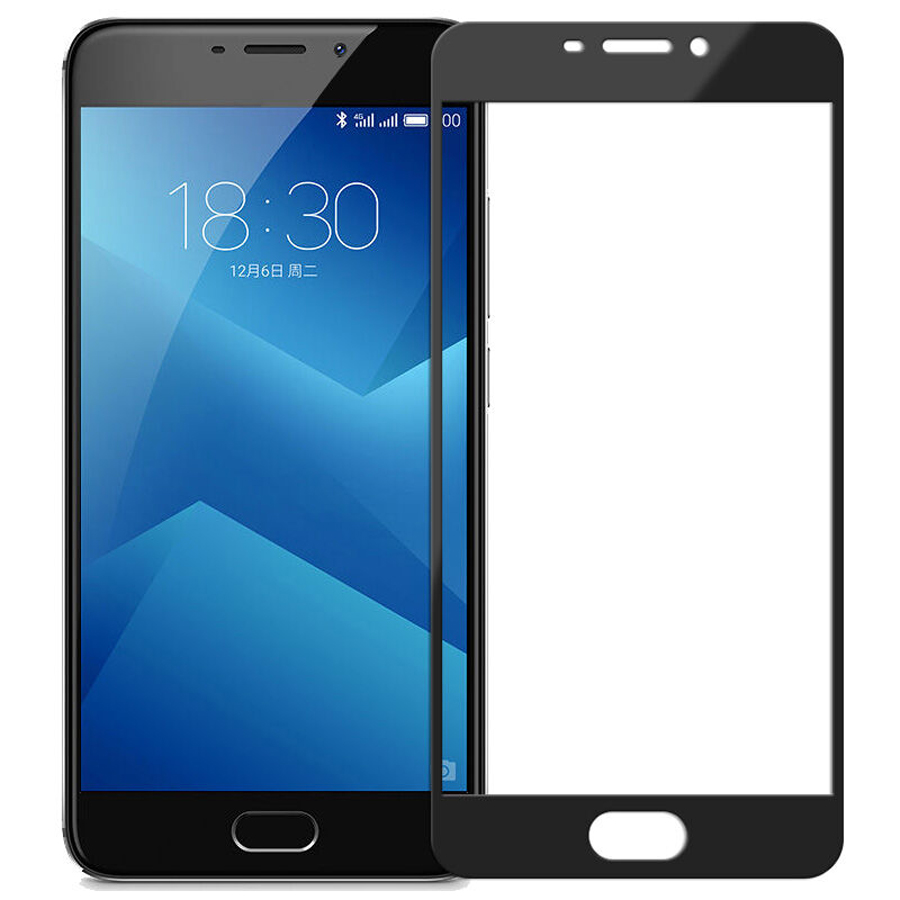 2 Pcs Lot Full Coverage Screen Protectors For Meizu M5 Note Scratch Proof Protective Film Tempered