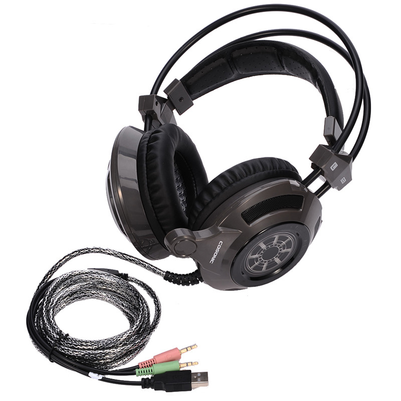 Cosonic G9 Gaming Headset Earphones  Noise Canceling Headphones With Microphone  for PC Gamer