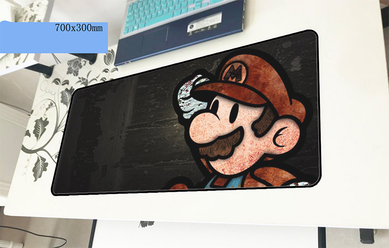 Mario mouse pad gamer Adorable 700x300x2mm notbook mouse mat gaming mousepad large cool new pad mouse PC desk padmouse