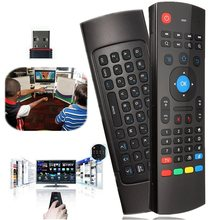 Universal Portable Motion Sensor Fly Air Mouse 2.4GHz Wireless Keyboard Remote Control For Android TV Projector HTPC