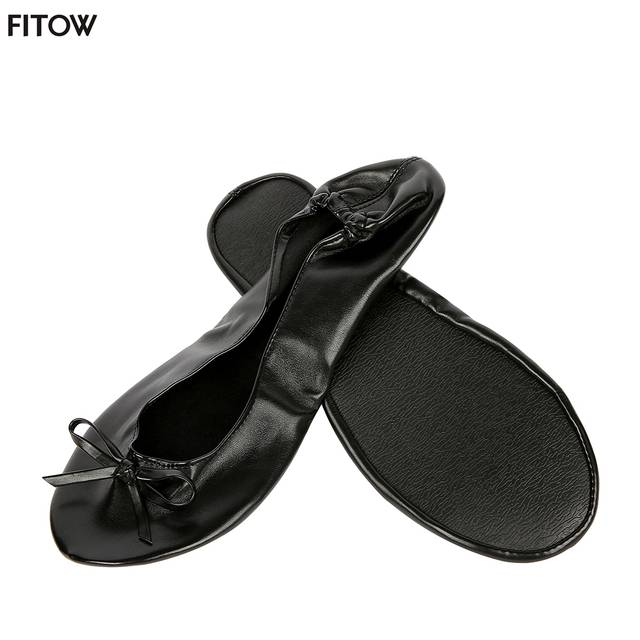 95776e0adfe After Party Shoes Foldable Ballet Flats Portable Travel Fold up Shoe Prom Ballerina  Flats Roll Up