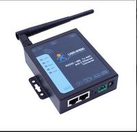 Industrial Serial RS232 RS485 to WIFI TCP/IP RJ45 Ethernet Converter module server supports two ethernet ports, modbus RTU