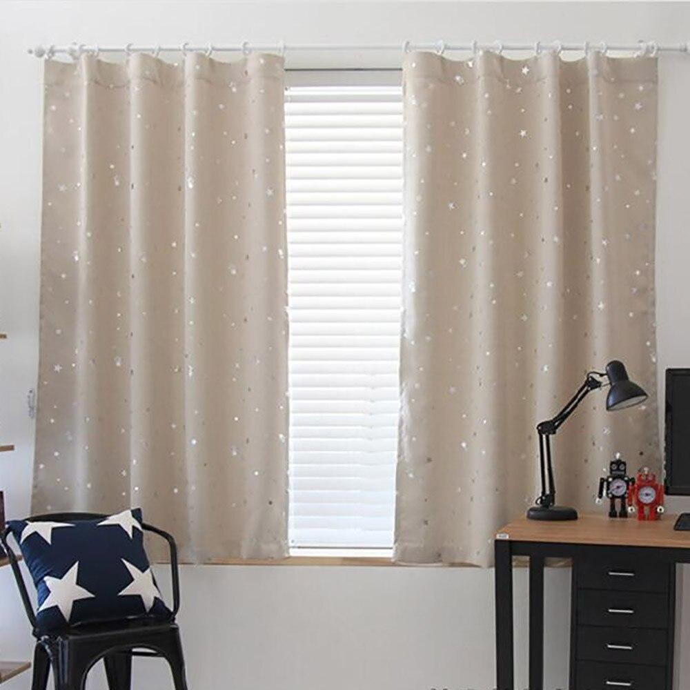 1 Stoff Starry Sky Vorhang Tüll Fenster Behandlung Voile Drapieren Valance Für Wohnzimmer Vorhänge Dekorative Fenster Bildschirm #008 Blut NäHren Und Geist Einstellen