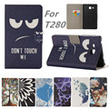For Samsung Galaxy Tab A 7.0 SM-T280 SM-T285 funda cartoon print pu Leather cover for Samsung T280 T285 case Tablet cases