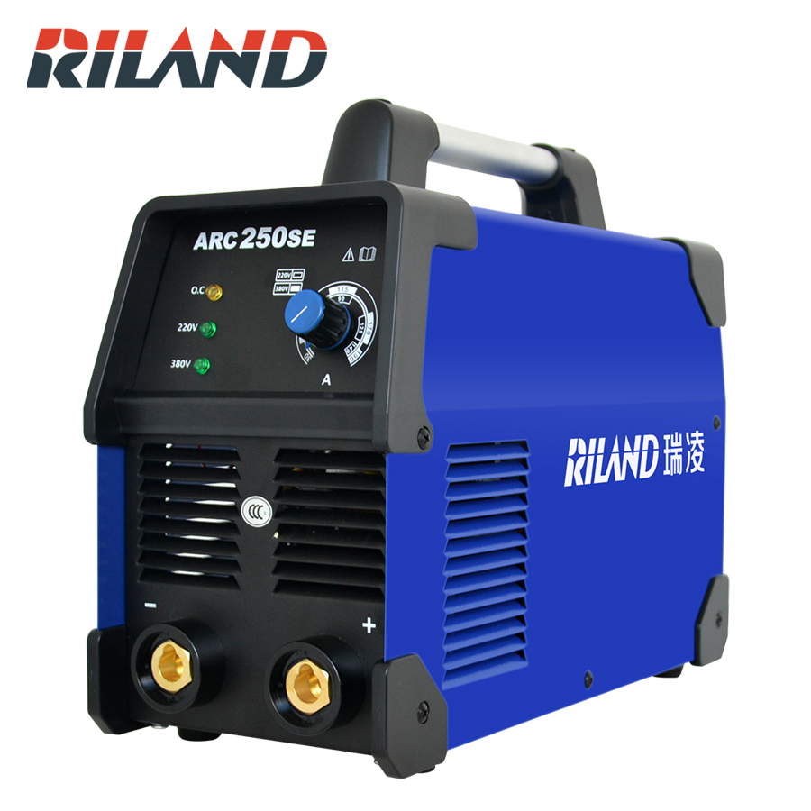 RILAND ARC 250SE  Portable MMA Welding Machine Inverter Double Voltage 220V/380V Single Phase Welder