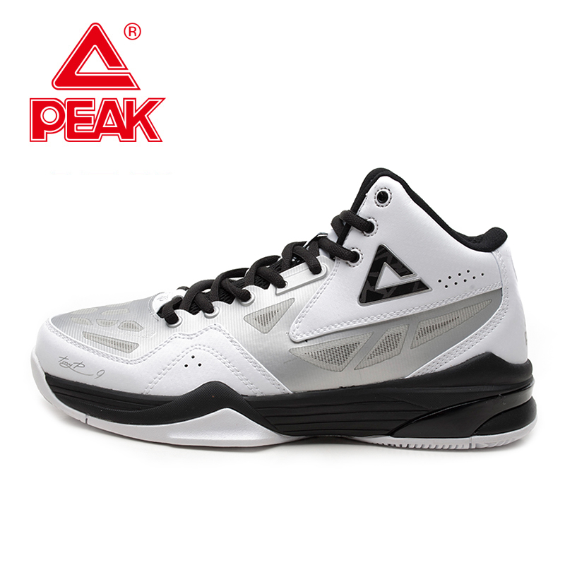 PEAK SPORT Tony Parker TP9 COSTAR Exclusive Signature Men Basketball Shoes Training FOOTHOLD Cushion-3 Tech Sneakers Ankle Boots peak sport men outdoor bas basketball shoes medium cut breathable comfortable revolve tech sneakers athletic training boots