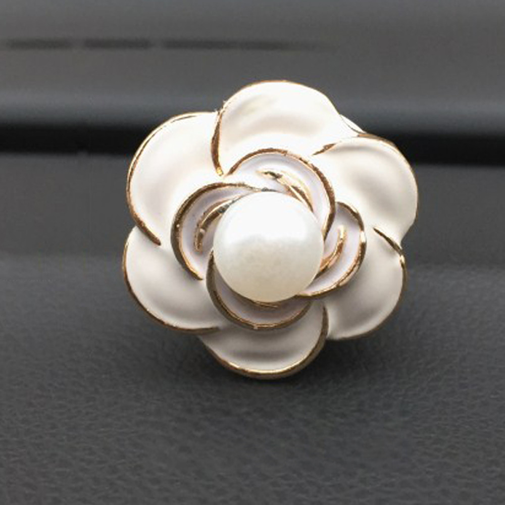 Car Loving Gift Air Outlet Fragrant Perfume Flower Freshener Diffuser Camellia High Qualty Fragrance Material_1.24 Automobiles & Motorcycles