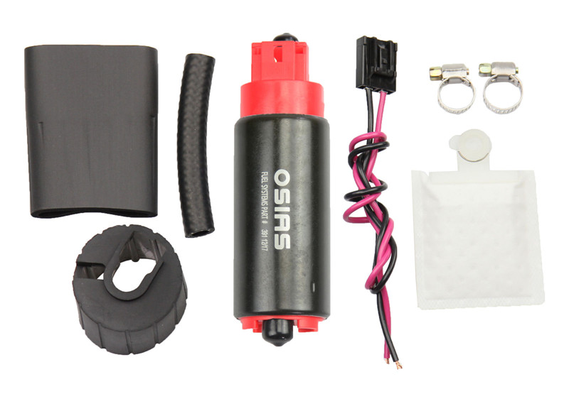 OSIAS New OSIAS 340LPH Intank High Pressure Flow Performance Fuel Pump GSS341 update osias ship from us cn brand new 340lph high performance fuel pump replace walbro 255lph gss342