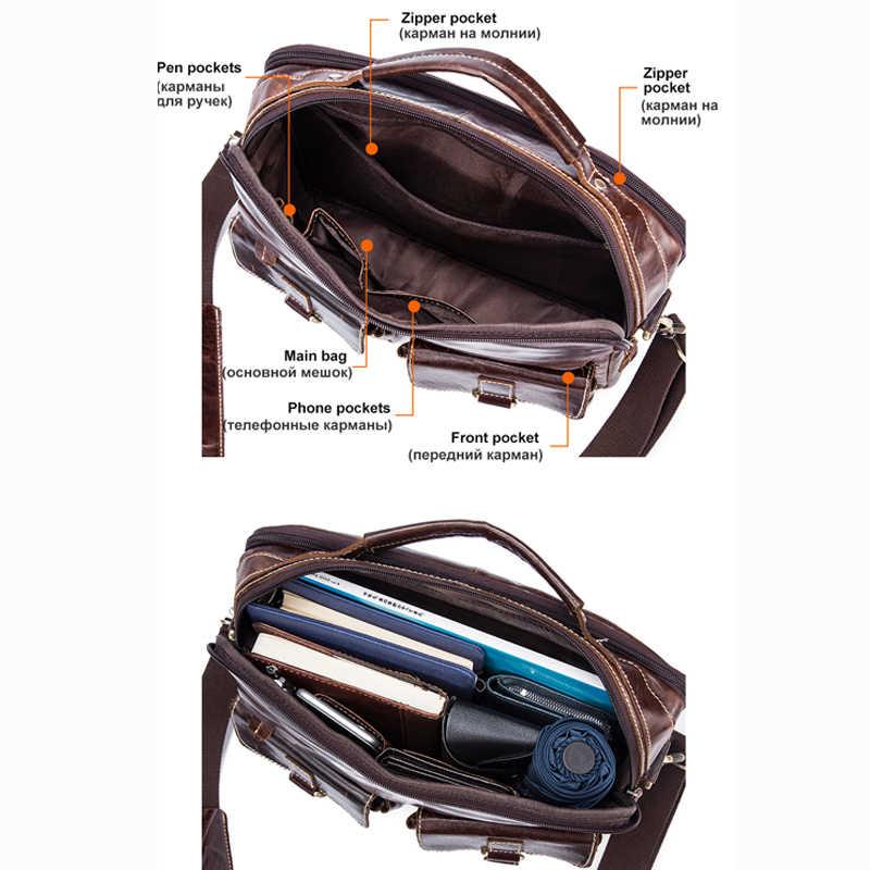... MVA горячие продаж сумка через плечо мужская сумка для документов  мужская сумка для ноутбука кожа портфель ... 0ce5307c005