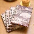 Европейский ветряной змеевик Дневник для ноутбука rolllover A6 портативный ноутбук канцелярские принадлежности