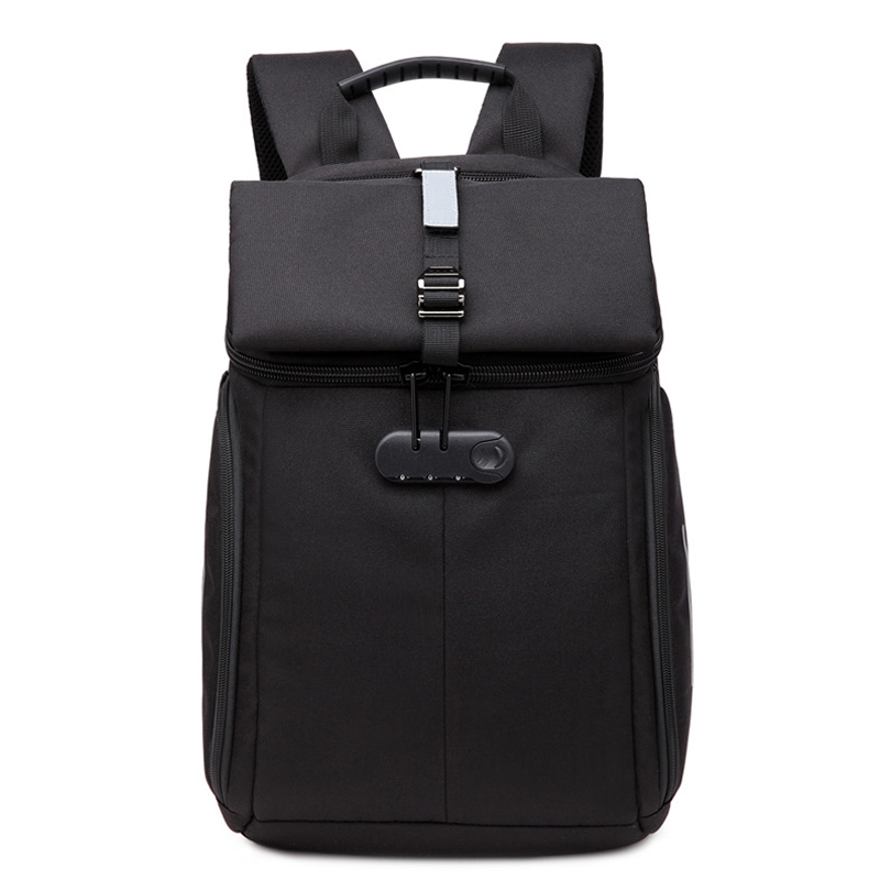 New Men Backpack Oxford Wearable Breathable NO <font><b>Key</b></font> <font><b>TSA</b></font> Anti Theft Laptop Backpack school bags for teenagers Travel Mochilas image