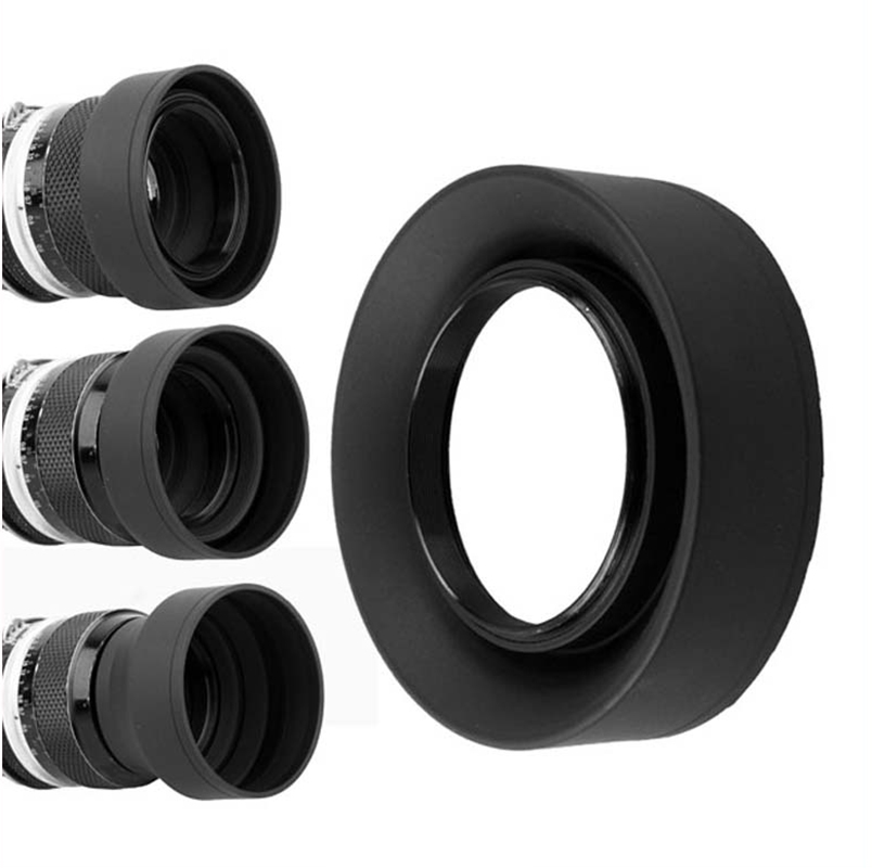 Gadget Place Professional 3-Stage Collapsible Universal Rubber Multi-Lens Hood for Canon EF 28mm f//2.8 IS USM