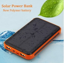 Dual USB Mobile Phone Solar Replacement Battery 30000 mAh Waterproof External Power Supply Solar Panels