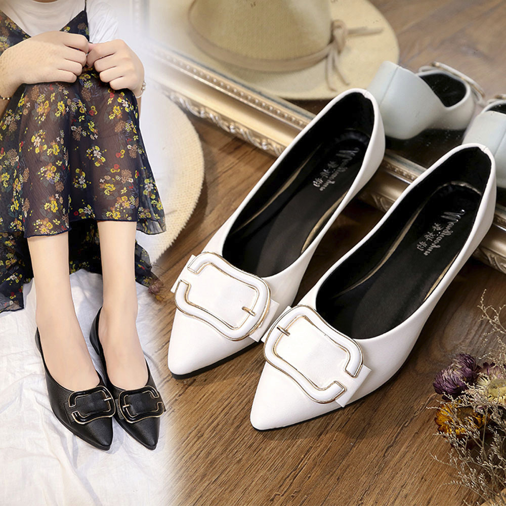 Women's Flats Ladies Heart shaped Comfy Shoes Soft Slip-On Single Casual Boat Shoes Leather Loafers Shallow Platform Flat Shoes cresfimix zapatos women cute flat shoes lady spring and summer pu leather flats female casual soft comfortable slip on shoes
